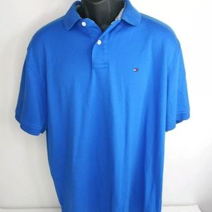 Tommy Hilfiger Polo Men's Shirt XL Blue